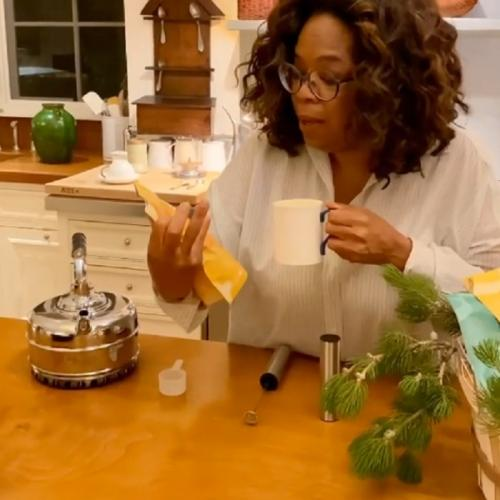 Oprah dikirimi produk Meghan