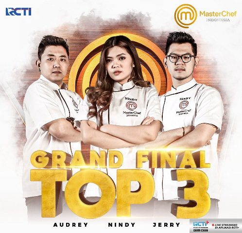 Top 3 MasterChef Indonesia Season 7. (Foto: Instagram @masterchefina)