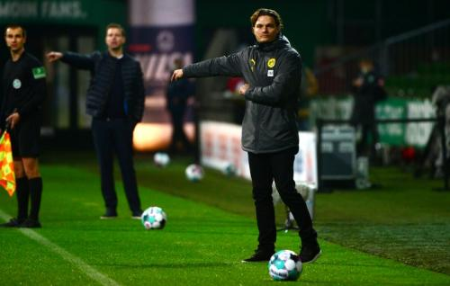 Terzic di laga Bremen vs Dortmund