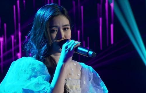 Melisa Hartanto tampil di babak Showcase Indonesian Idol. (Foto: RCTI)