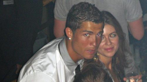 Cristiano Ronaldo dan Jasmine Lennard