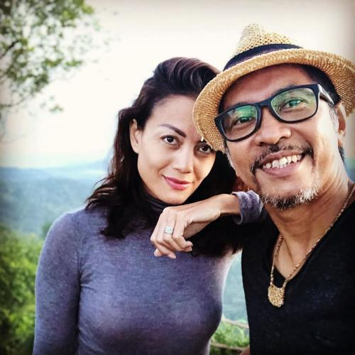 Ridho Slank dan istri