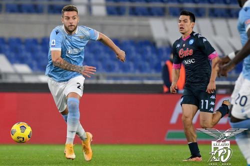 Lazio masih berupaya merangsek ke papan atas (Foto: Twitter/@OfficialSSLazio)
