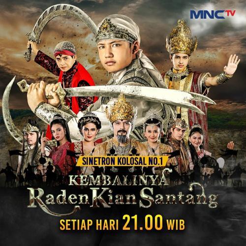 Kembalinya Raden Kian Santang. (Foto: MNCTV)