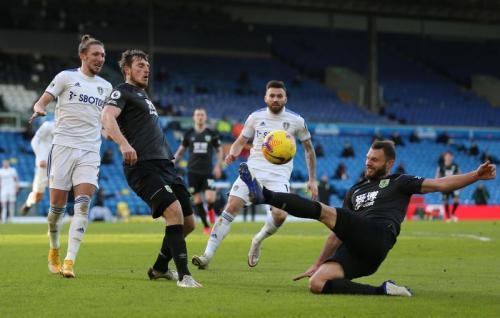 Suasana laga Leeds United vs Burnley