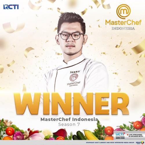 Jerry MasterChef Indonesia Season 7. (Foto: rctiplus)
