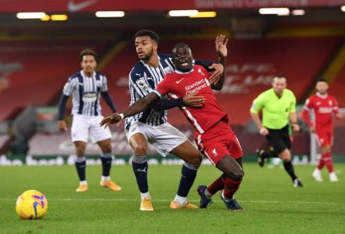 WBA sukses imbangi Liverpool di Anfield (Foto: Reuters)
