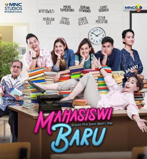 Poster film Mahasiswi Baru.