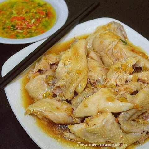Ayam rebus spesial. (Foto: Facebook Resep Enak)