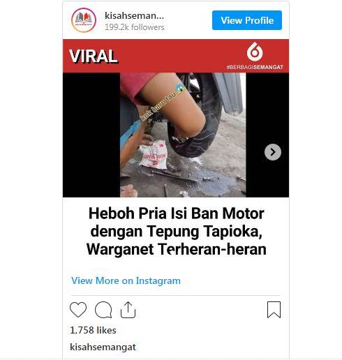 viral tambal ban