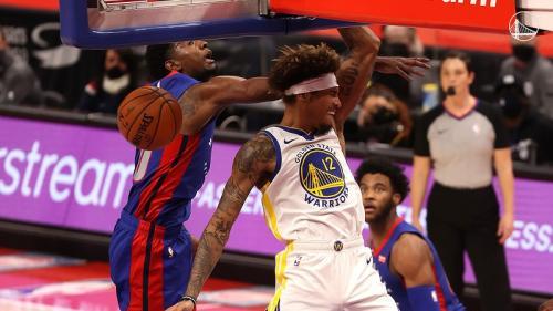 Detroit Pistons vs Golden State Warriors