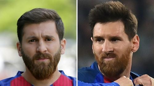 Reza Paratech mirip dengan Lionel Messi (Foto: Bored Panda)