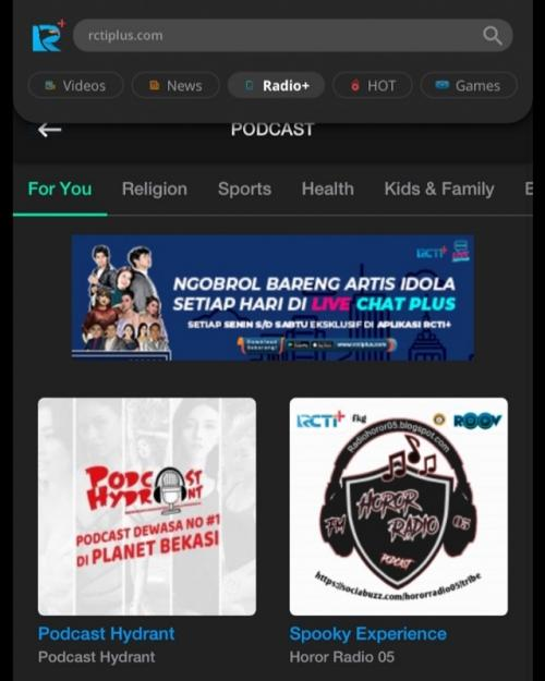 Podcast RCTI+