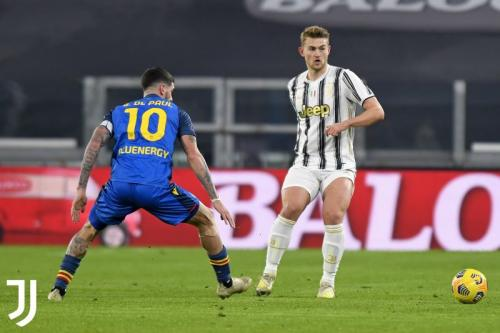 Suasana laga Juventus vs Udinese
