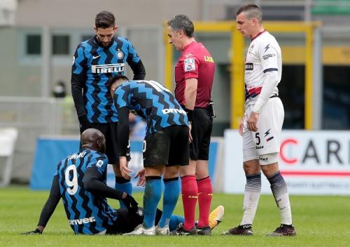 Romelu Lukaku mengalami cedera (Foto: Inter Milan)