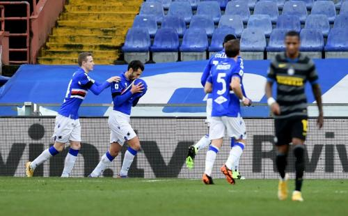 Sampdoria vs Inter Milan (Foto: Reuters)