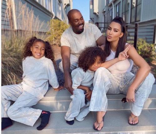 Kim dan Kanye