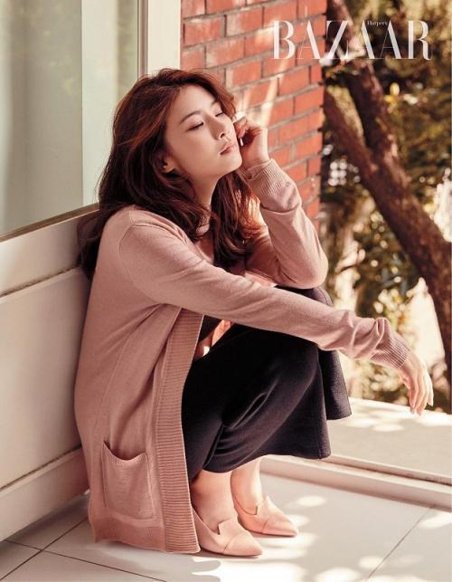Lee Bo Young. (Foto: Harper's Bazaar)