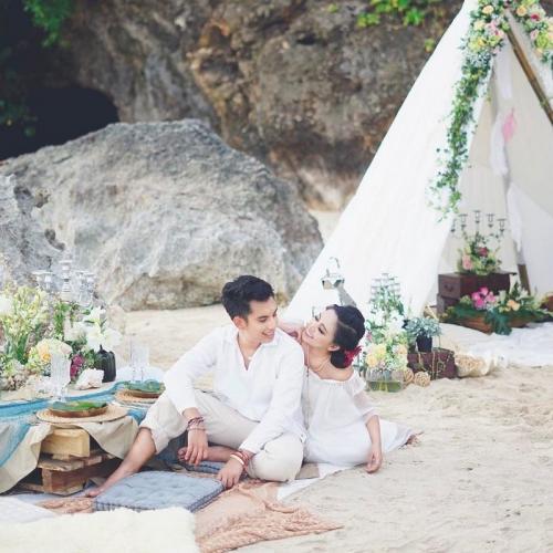 Rachel Vennya dan suami. (Foto: Instagram/@rachelvennya)
