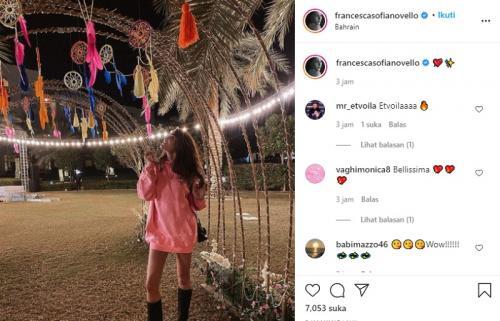 Francesca Sofia Novello ada di Bahrain