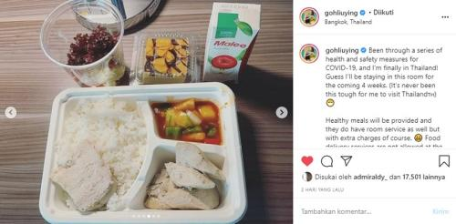 Goh Liu Ying curhat di Instagram