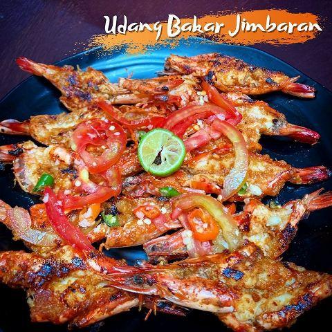 Udang bakar jimbaran. (Foto: Instagram @aanastiya)
