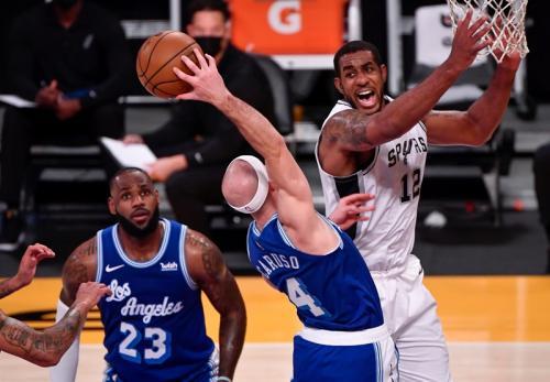 LA Lakers vs San Antonio Spurs