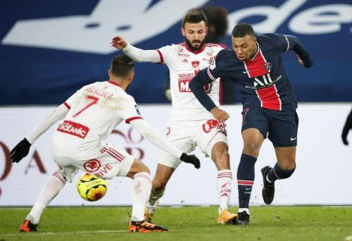 PSG vs Stade Brestois