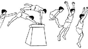 Gerakan lompat kangkang