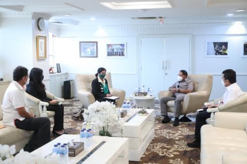 Menpora RI bertemu Ketua Umum PB Pordasi (Foto: Kemenpora RI)