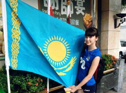 Sabina Altynbekova merayakan Hari Kemerdekaan Kazakhstan (IG/@altynbekova_20)