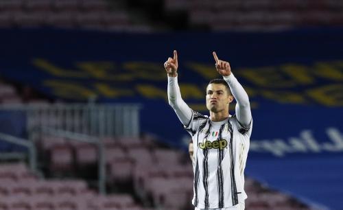 Cristiano Ronaldo bergaji tertinggi (Foto: Reuters)
