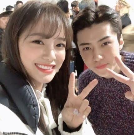 Sejeong dan Sehun