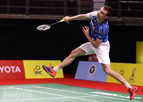 Aksi Rasmus Gemke (Foto: Badminton Photo)