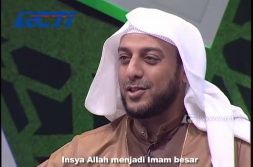 Syekh Ali Jaber. (Foto: RCTI)