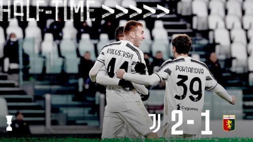 Suasana laga Juventus vs Genoa