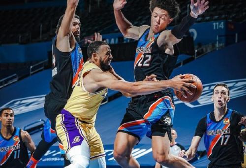 Oklahoma City Thunder vs LA Lakers