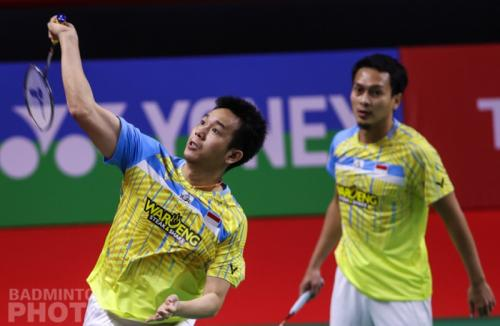 Mohammad Ahsan/Hendra Setiawan (Badminton Photo)