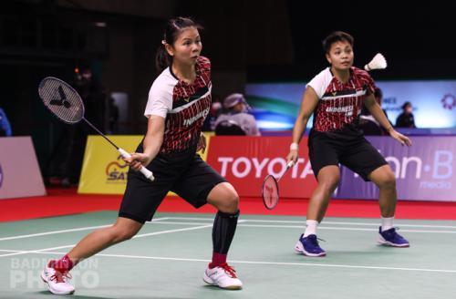 Greysia/Apriyani melenggang mulus (Foto: Badminton Photo)