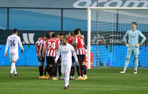 Athletic Bilbao vs Real Madrid (Foto: Reuters)
