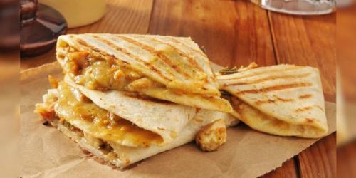 Makanan tortilla sandwich mendadak viral di linimasa media sosial. (Foto: Fox News)
