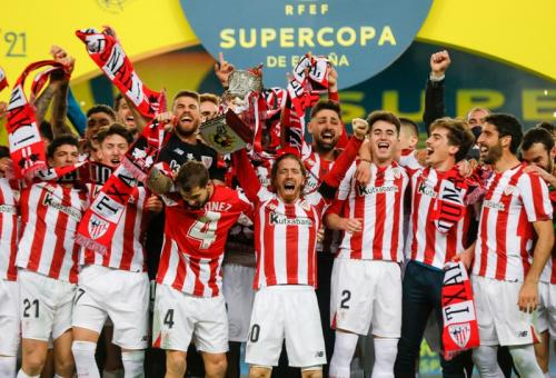 Athletic Bilbao mengakhiri puasa trofi (Foto: Reuters)