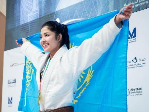 Atlet Jiu-Jitsu asal Kazakhstan, Moldir Mekenbayeva