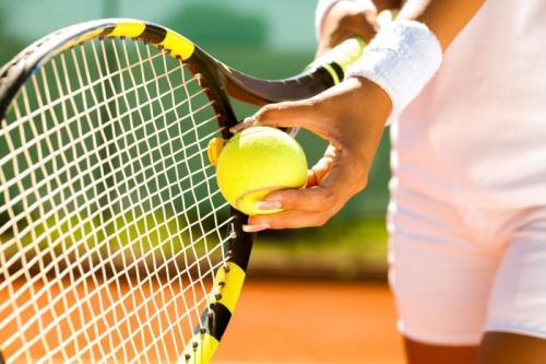 Olahraga tenis.