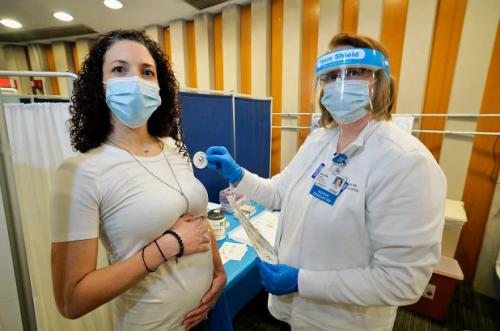 uji vaksin kepada ibu hamil