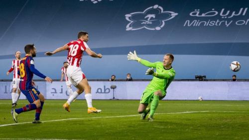Oscar de Marcos cetak gol penyeimbang (Foto: Athletic Bilbao)