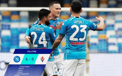 Napoli baru saja menghajar Fiorentina 6-0