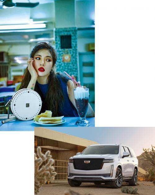 Hyuna. (Foto: DAZED/Cadillac)