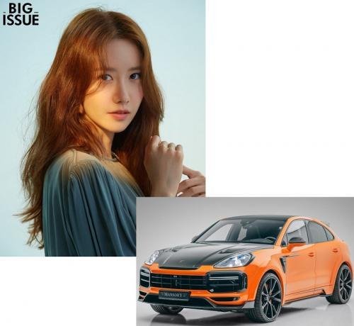Yoona SNSD. (Foto: Big Issue/Porsche)
