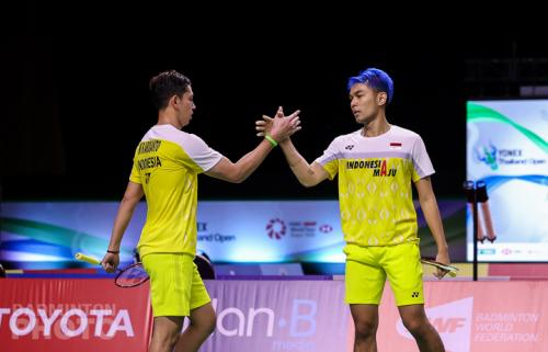Fajar/Rian (Badminton Photo)
